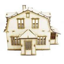Dorothy Mary Wood Wooden Character Dolls House Self Assembly kit - 3 sizes